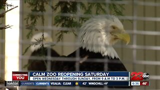 CALM Zoo to reopen Saturday: Here's a Sneak Peek!