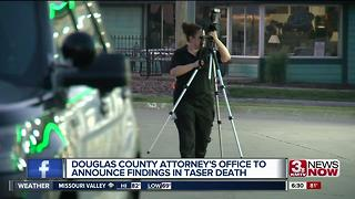 Douglas County Attorney's Office to announce findings in taser death - Video