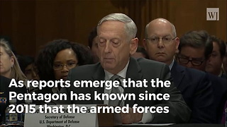 'Find Out What's Going On': Mattis Issues New Order to Pentagon Following Texas Massacre - Video
