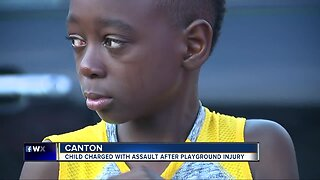 Canton 10-year-old charged with assault following schoolyard injury