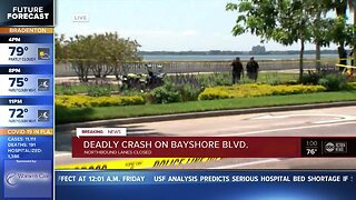 Police investigate deadly accident on Bayshore Boulevard