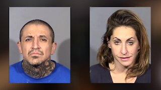 LVMPD arrests 2 for a string of Las Vegas robberies