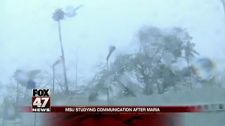 Michigan State to study communication after Hurricane Maria