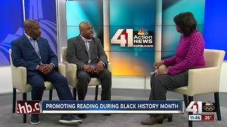 Promoting reading during Black History Month - Video