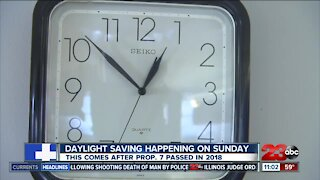 Daylight saving time ends on Sunday hear what resident think about it