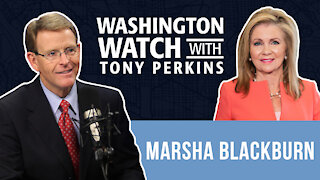Sen. Marsha Blackburn Says the Dems' COVID 'Relief' is a Cover for Radical Pro-Abortion Policy