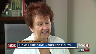 Hurricane Irma and your Insurance - Video