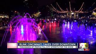 BLINK Cincinnati takes over Downtown - Video
