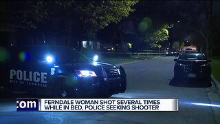 19-year-old Ferndale woman shot several times while laying in her bed