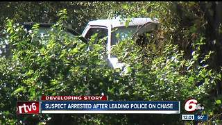 Man injured after chase leads police through 2 counties