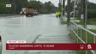 11AM: Flooding in Martin County