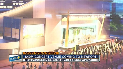 Take that, Cincinnati: Newport gets indoor-outdoor concert venue