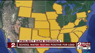 School water testing positive for lead