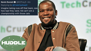 Should We Let Kevin Durant Off the Hook? -The Huddle - Video