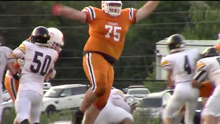 "6'8"" 420-pound Teenager TERRORIZES High School Football Teams - Video"