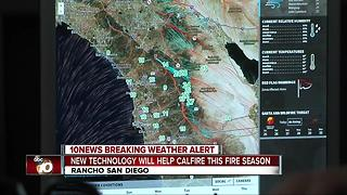 Cal Fire uses new technology to help with upcoming wildfire season - Video