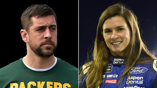 Danica Patrick FINALLY CONFIRMS her and Aaron Rodgers are OFFICIALLY DATING - Video