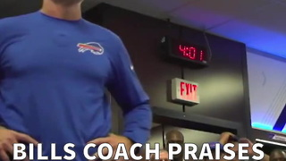 Bills Coach Praises God After Win On Sunday