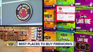 Thursday's Top 7: The top 7 places to buy fireworks in metro Detroit