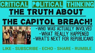 Who Really Breached The Capitol, What Really Happened, 1st Hand Proof
