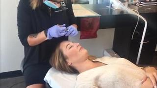 The latest beauty trend in eyebrow care: Microblading - Video