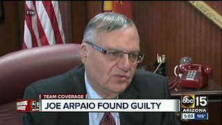 Judge rules former Sheriff Joe Arpaio guilty in criminal contempt case - Video