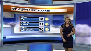 Sunny & Pleasant Weekend Ahead - Video