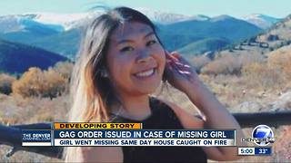 Judge issues gag order in case of missing Park County girl, arson - Video