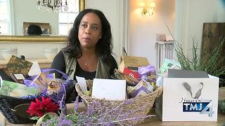 Local group provides healing gifts to beating victim. - Video