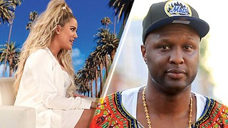 Khloe Kardashian Throws Subtle SHADE at Ex-Husband Lamar Odom - Video