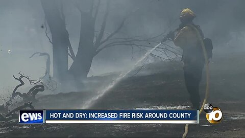 Hot and Dry: Increased fire risk around SD County