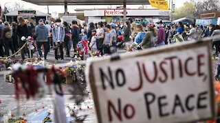 Protests In Minnesota As Jury Deliberates In Chauvin Trial