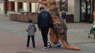 Just a T-Rex on a segway - Video