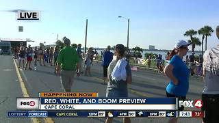Celebrating the Red, White, and Boom in Cape Coral -- 7:30am live report