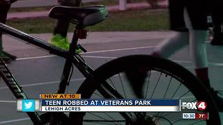 Teen Robbed at Veterans Park - Video