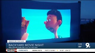 Consumer Reports: Setting up a backyard movie night