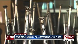 Teachers at Webbers Falls Recovering After Flood