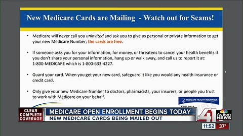 Medicare open enrollment begins Oct.15