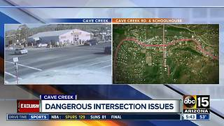 Dangerous intersection issues in Cave Creek - Video