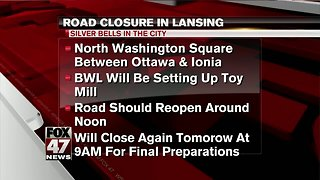 Silver Bells: Lane reductions, street closures