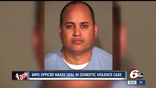 Domestic violence charges against IMPD officer dismissed - Video