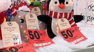 Last-minute holiday shopping on Christmas Eve