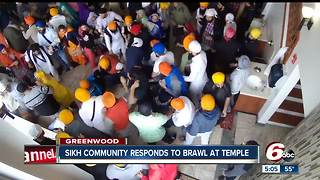 Sikh political action committee releases statement following brawl at temple - Video