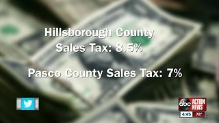 Pasco County sales tax confusion