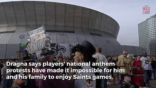 Saints Season Ticket Holder Demands Refund From Team After Anthem Protests - Video