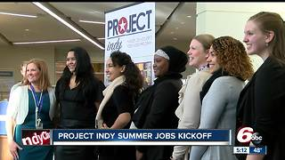 Project Indy summer jobs program kicks off