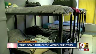 Why some people who are homeless avoid shelters - Video