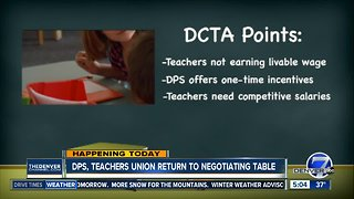Contract talks today for Denver teachers