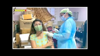 Debina Bonnerjee Requests Everyone To Get Vaccinated As She Gets Her First Shot