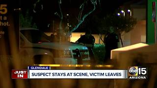 Glendale police investigating shooting that injured one - Video